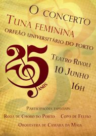 O Concerto - Tuna Feminina do OUP